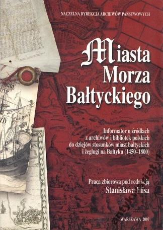 Okładka Miasta Morza Bałtyckiego
