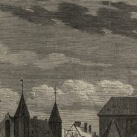Warsztaty archiwalne dla gdańskich archiwistów, fotografia przedstawia lodzie rybackie w Katach Rybackich