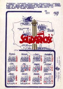 Calendar with Solidarity logo