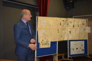 Burmistrz Gminy Żukowo Pan Wojciech Kankowski, którysprawował honorowy patronat nadkonkursem