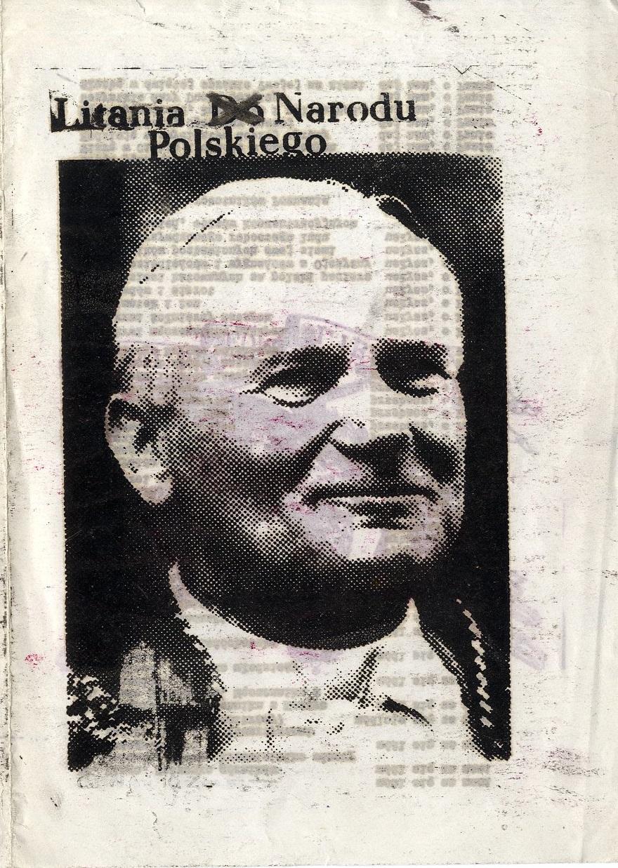 Litania do Narodu Polskiego - scan pierwszej strony - Litany of the Polish Nation