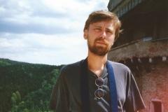 1992 r. Na zamku Perstejn, Czechy