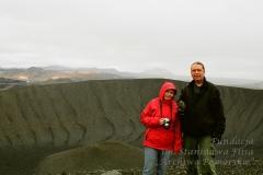 2007 r. Z żoną Iwoną podczas wyprawy na Islandię.