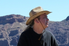 2013 r. Na wyprawie na wulkan El Teide.