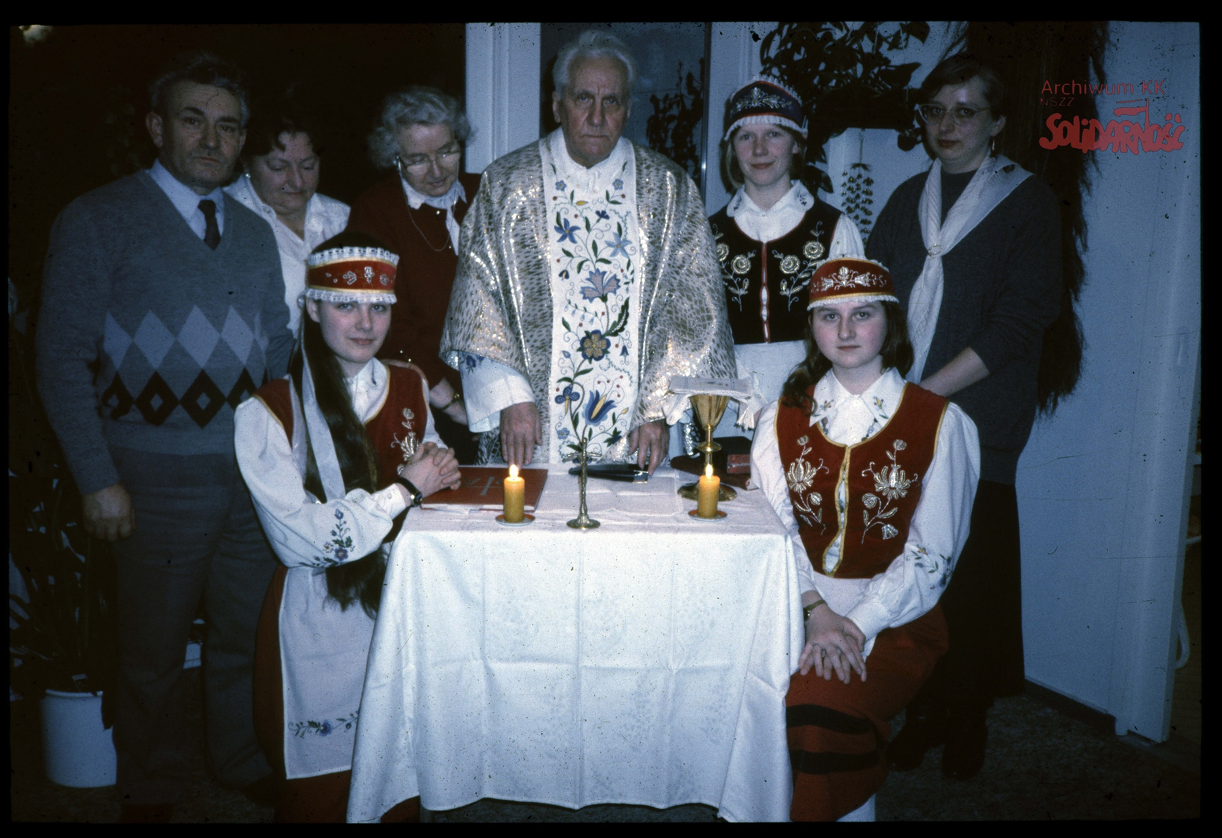 AKKS-347-79-119-004-B  Priest Prelate Hilary Jastak